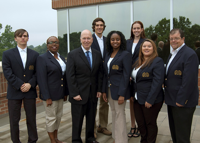 Dr. Green and the Student Ambassadors