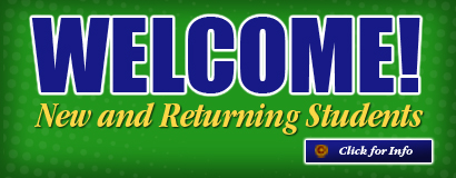 Welcome new and returning students!