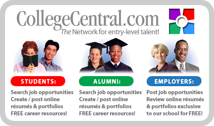 CollegeCentral.com - The network for entry-level talent!