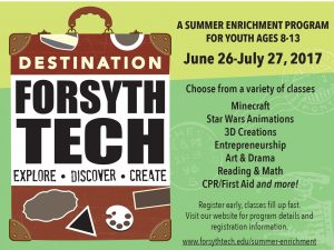 Destination Forsyth Tech