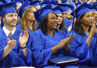 Forsyth Tech graduates are commencement