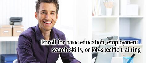 Job Training Banner or Job-specific Training
