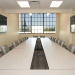 a conference room