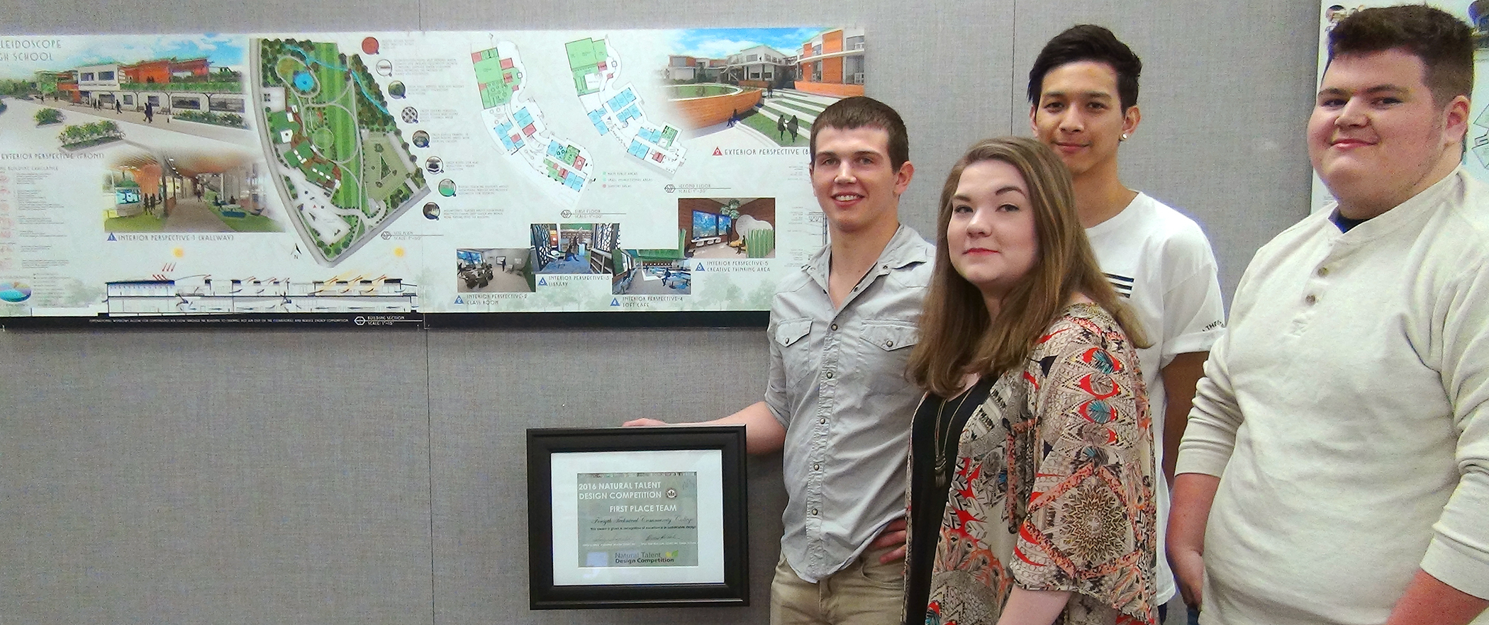 Forsyth Tech Architecture and Interior Design Teams Earn Top Honors