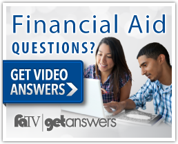 Get Video Answers for Financial Aid