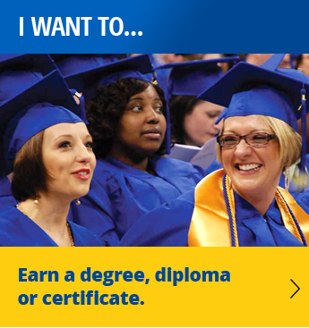 I want to earn a degree, diploma, or certificate.