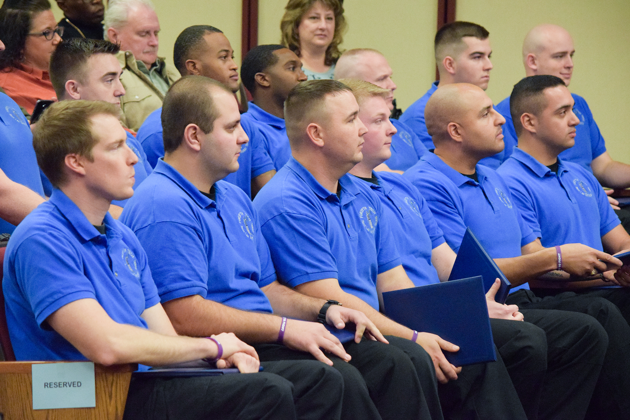 Basic Law Enforcement Training Holds Graduation At Forsyth Technical