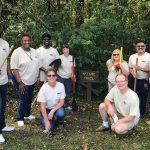 Forsyth Tech employees out volunteering