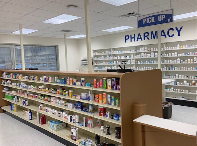 pharmacy tech training room