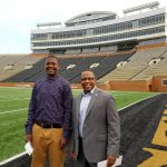 Jolen and Murray at BB&T Field