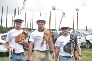 Electrical Lineman students