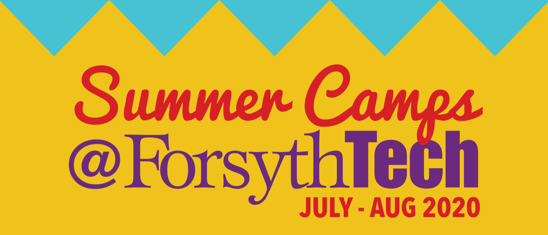Summer Camps at Forsyth Tech Jul - August 2020