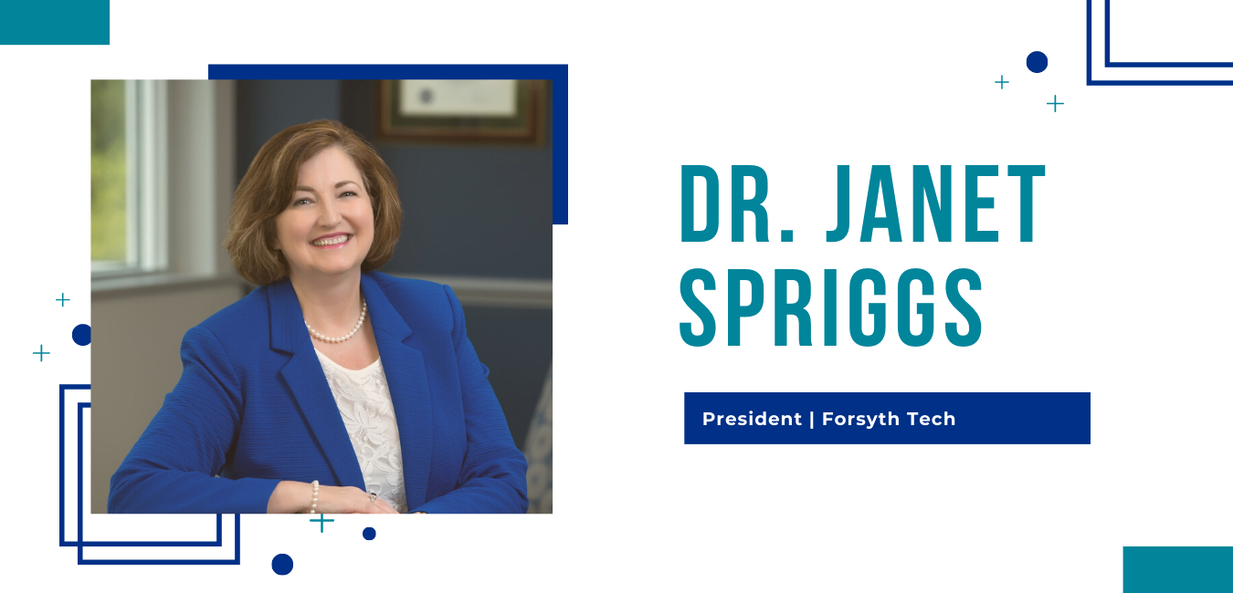 Picture of Dr. Janet Spriggs, President of Forsyth Technical Community College