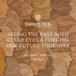 Seeing the Past with Clear Eyes and Forging Our Future Together