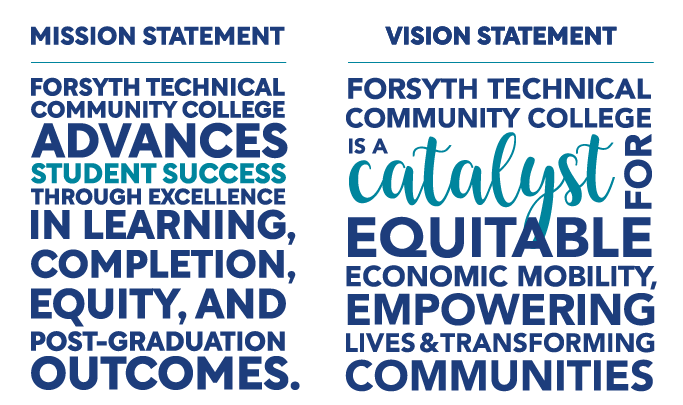 Forsyth Tech Mission and Vision Statements