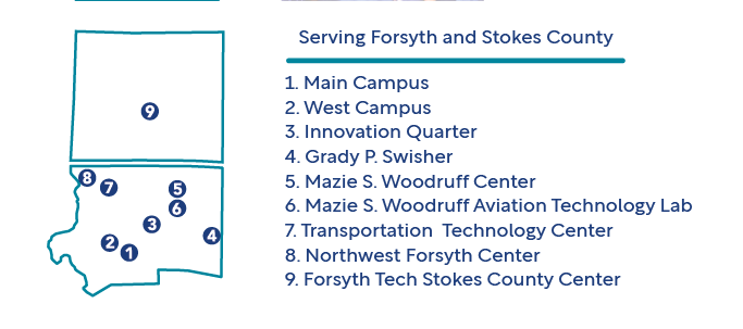 Forsyth Tech Service Locations