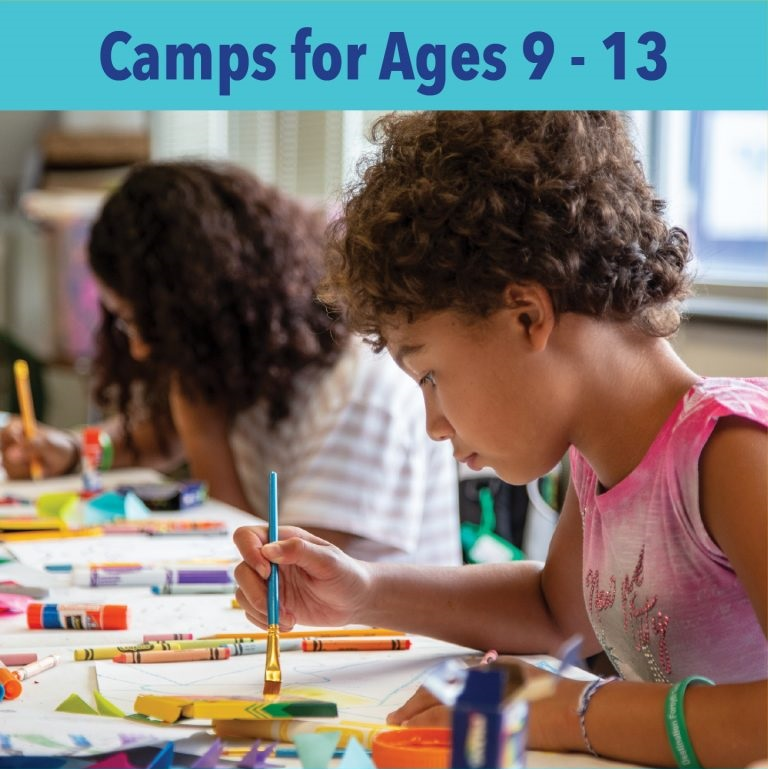 Image Link to Camps for Ages 9 - 13 webpage