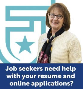 Job seekers need help with your resume and online applications?